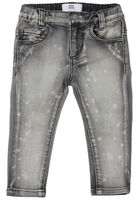 Splash Slim Jeans - Dark Grey Denim