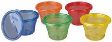 Snack Cups med låg 120 ml. 6pk