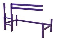 Basic Halvhøj Modul - 70x160 Cm - Classic Purple