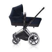 Priam Babylift Midn Blue + Chrome Stel