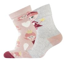 2-pk Babysock-Princess Lurex