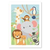 St.Circus plakat - Savannen