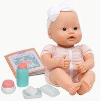 Baby Dukke m/pusletilbehør
