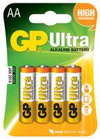 AA/LR6- Ultra Alkaline Batteri 4 stk.