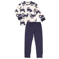 Pyjamas M. Print - Offw.Navy 778