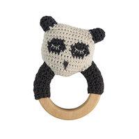 Hæklet Rangle - Panda