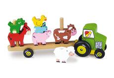 Traktor med stabledyr
