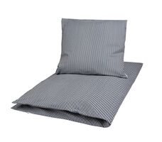 Stripe bed linen adult Navy