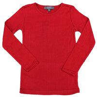 T-shirt L/s Ensf. - Scarlet/031