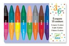 Farver - 8 Dobbelt   farver