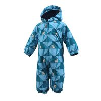 Rimah mini padded coverall AOP