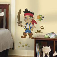 Wall Stickers - Piraten Jake - Stor