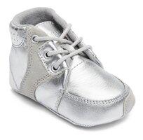 Prewalker w/lace Silver - SILVER