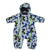 Baby Flyverdragt - Køredragt - Blå