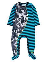 Animal Baby Heldragt - Scuba Blue
