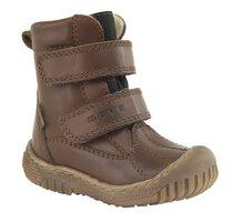 Tex Støvle Med Velcro - Brun