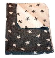 Baby Plaid - Grå Stjerner