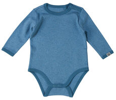 Brooke Baby solid LS Body - Dark Blue/270