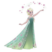Disney Frozen Fever, Elsa, Stor - Vægdekoration