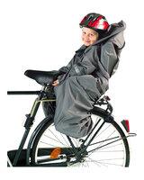 Regnslag til cykelstol, sort
