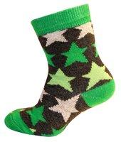 Babysock, Stripee star - Grøn 331