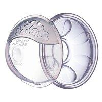 Brystskaller 2 stk m/støttepud