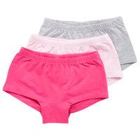 3 Pak Hipsters - Pink/Grå