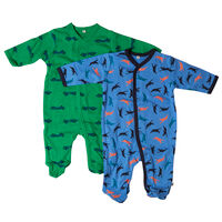 Nightsuit w/f -buttons 2-pack