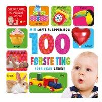 Børnebog - 100 første ting der skal lære