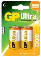 C/LR14- Ultra Alkaline Batteri 2 stk.