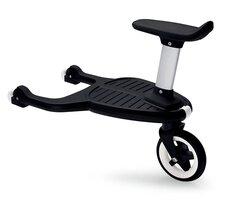 Søskendebræt Comfort Wheeled Board - Sort