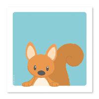 Egern Plakat - 21 x 21 Cm