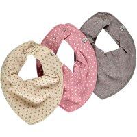 3 Pak Tørklæde-Smæk - Rosa Prik 556