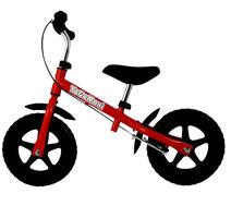 Løbecykel Maxi Bike Rød