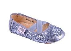 Glimmer Ballerina Sko - Antic Silver