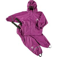 Basic rainwear suit -solid