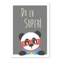 Super Pamda Plakat - A4
