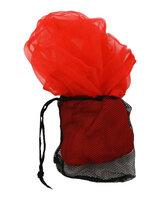 Klapvognsnet m/taske, rød