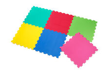 Legegulv - Multifarvet