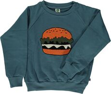 Sweat shirt med burger
