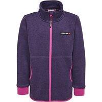 Saxton 772 Fleece Cardigan - D.Purple