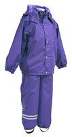 Regntøj M. Fleece - 742/Violet Blueberry
