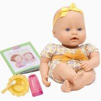 Baby Dukke m/ mad tilbehør