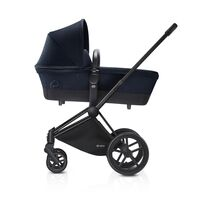 Priam Babylift Midn Blue + All Terrain Mat Black Stel