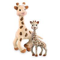 Sophie La Girafe 18 Cm + Plys Giraf