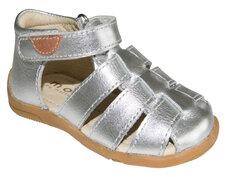 Lukket Sandal - Silver/900
