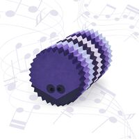 Hedgehog multi purple