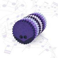 Hedgehog multi purple