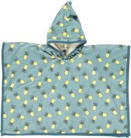 Badeponcho Med Ananas - Stone Blue