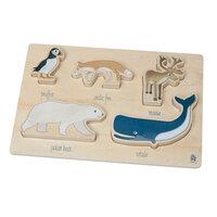 Træpuslespil, Arctic animals